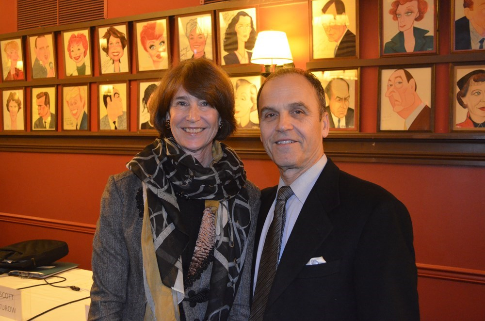 Roxana Robinson & Scott Turow at the 2014 Annual Meeting