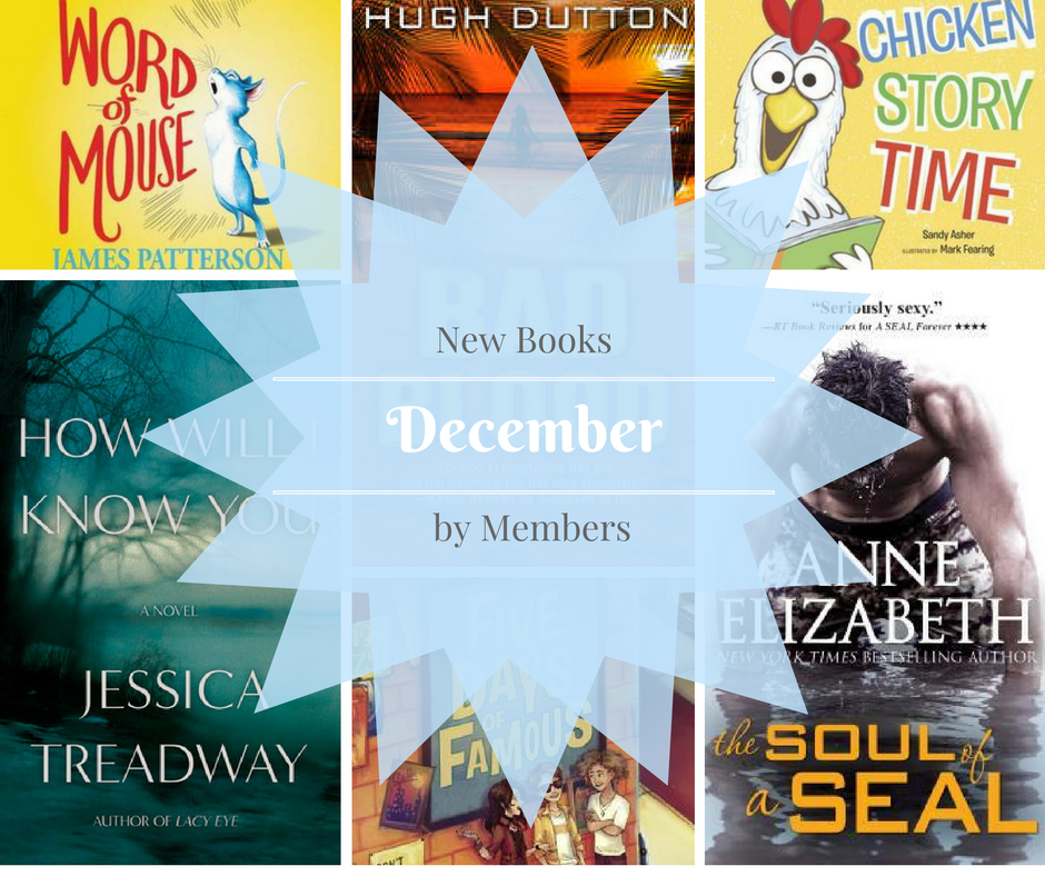 December new books by members