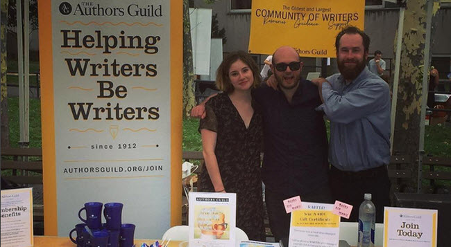 brooklyn book fest - authors guild