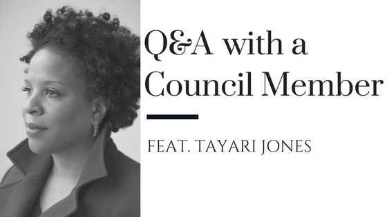 Q&A with council member - Tayari Jones - authors guild