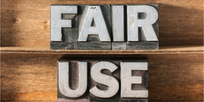 Defending Fair Use During Fair Use Week