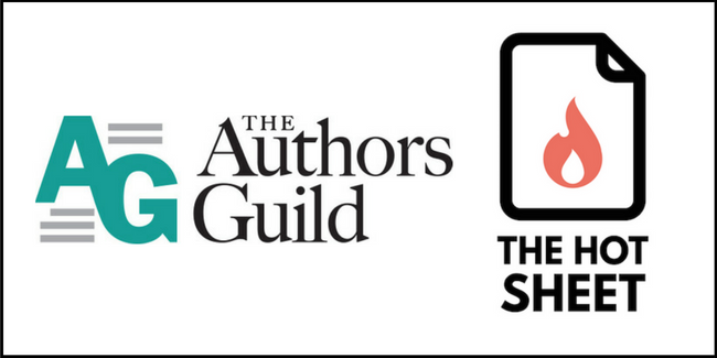 New Partnership with The Hot Sheet - The Authors Guild