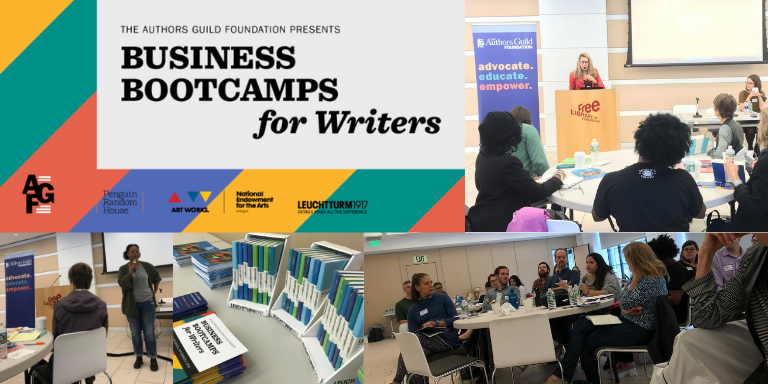 philly bootcamp for writers - the authors guild