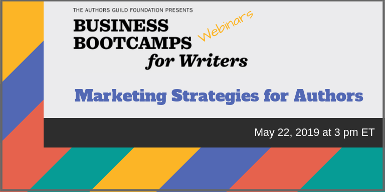 Marketing strategies for authors - the authors guild