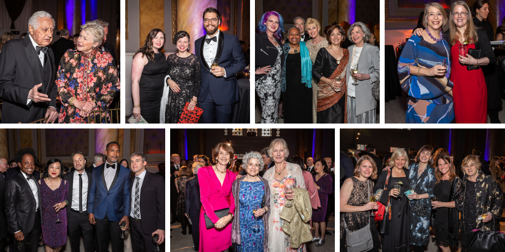 Authors Guild Foundation Gala attendees