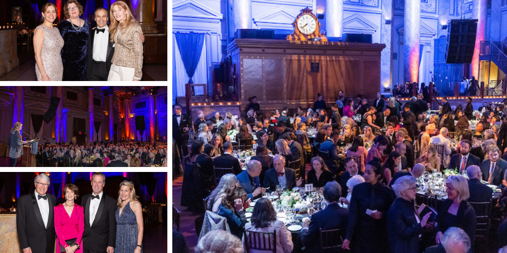 2019 Authors Guild Gala attendees and literary cabaret