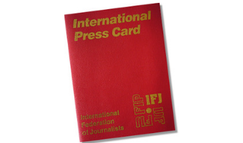ifj presscard - flex - authors guild
