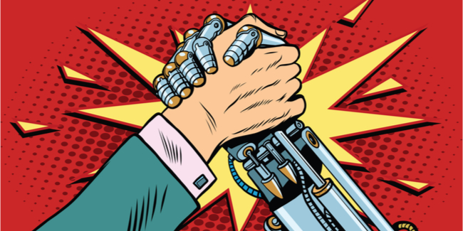 Robot and Human - the round up - the authors guild